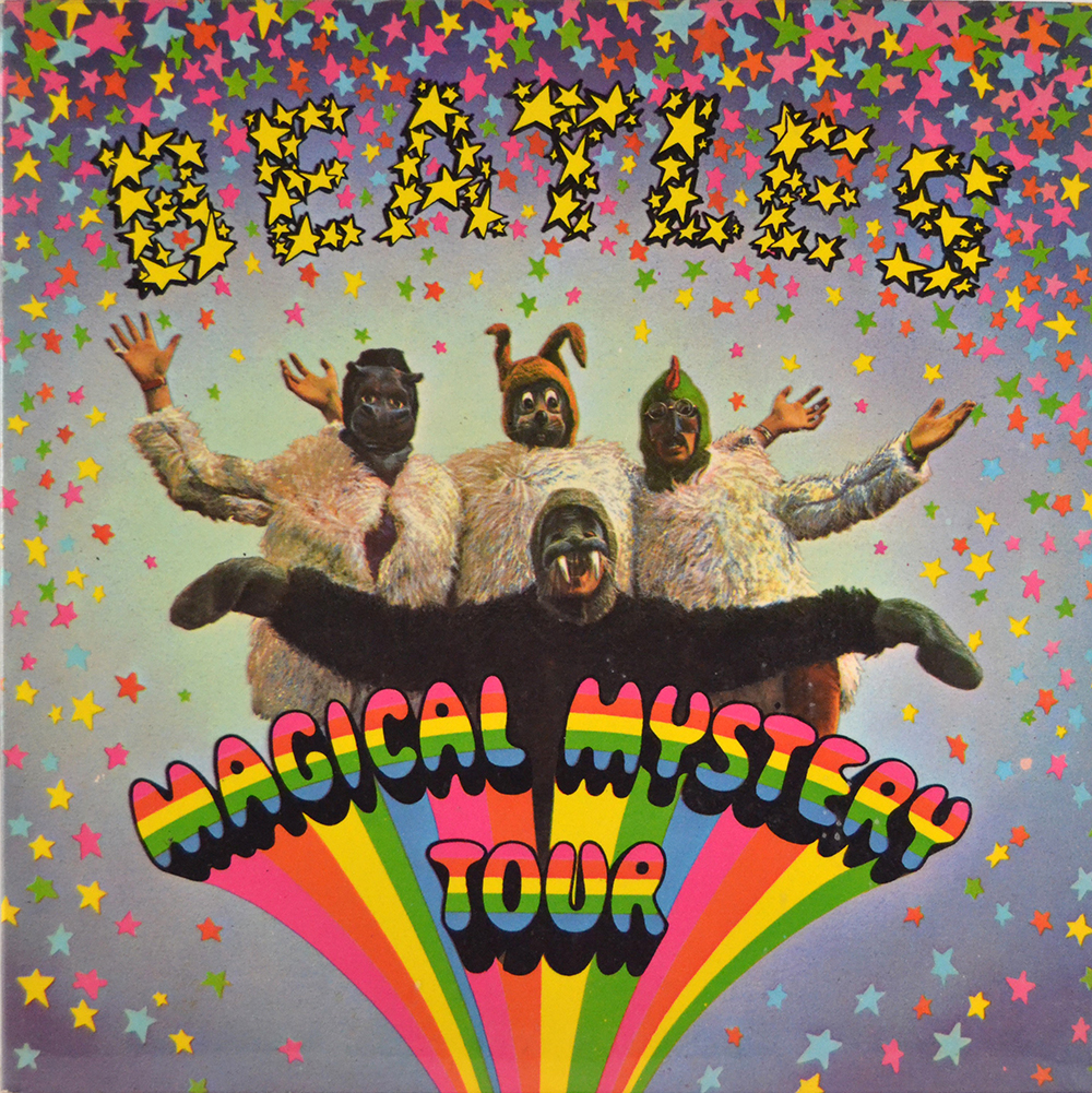 "обложка альбома Битлз - ""Magical Mystery Tour"""